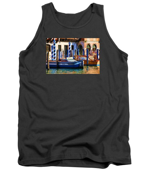 Venice - Untitled Tank Top by Brian Davis