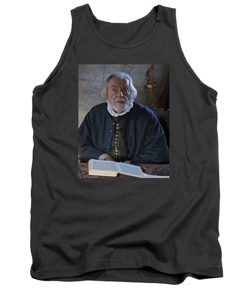 Tank Top featuring the photograph 1600's Pilgrim by Stephen Flint