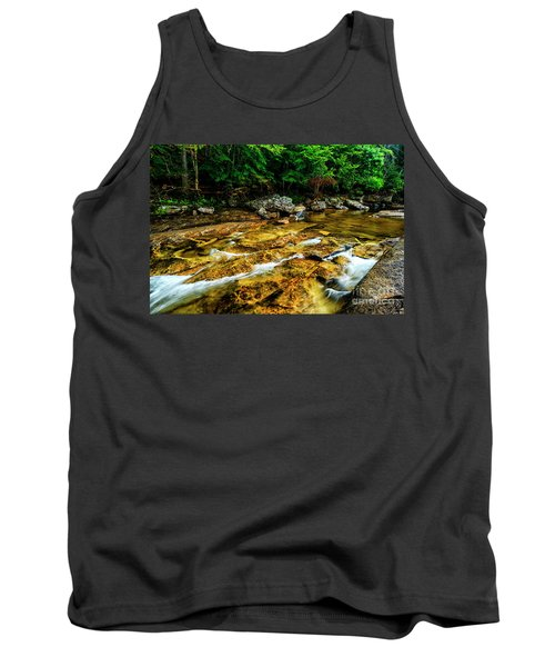 Tank Top featuring the photograph Williams River Summer by Thomas R Fletcher