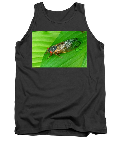 17 Year Periodical Cicada Tank Top