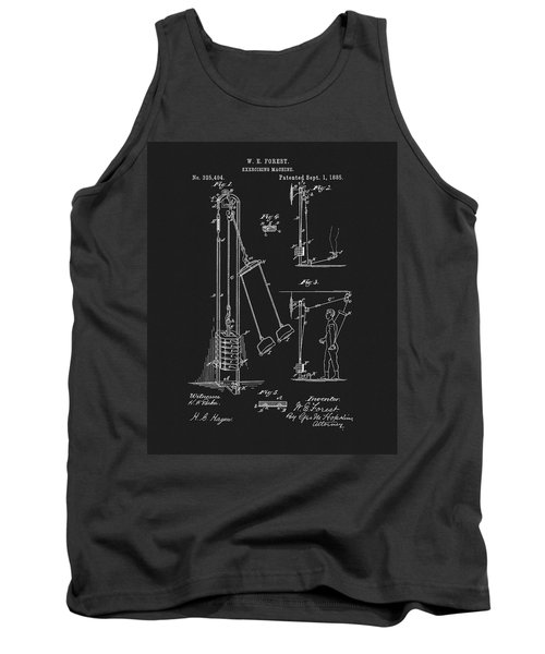 1885 Exercise Apparatus Tank Top by Dan Sproul