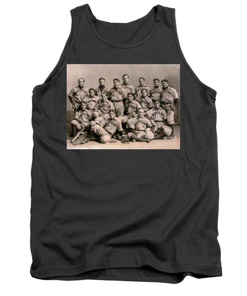 1896 Michigan Baseball Team Tank Top
