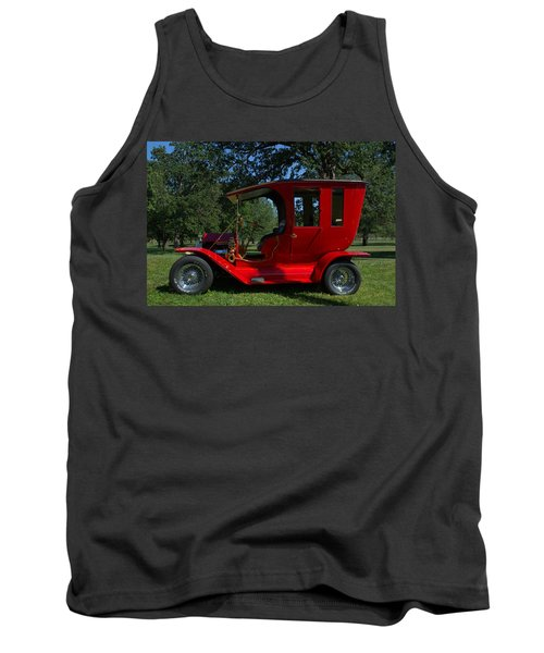 1909 Ford Model T Limo Custom Hot Rod Tank Top