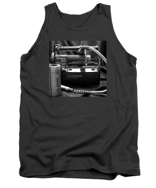 Tank Top featuring the photograph 1912 Dictaphone  by Ricky L Jones