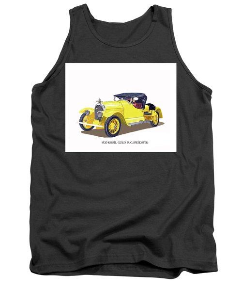 1923 Kissel Kar  Gold Bug Speedster Tank Top by Jack Pumphrey