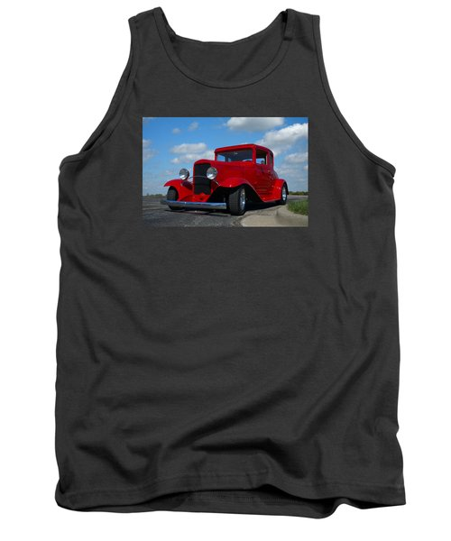 1930 Chevrolet Coupe Hot Rod Tank Top