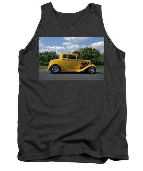 1931 Ford Coupe Hot Rod Tank Top