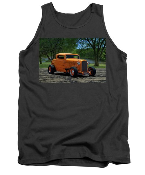 1932 Ford Coupe Hot Rod Tank Top
