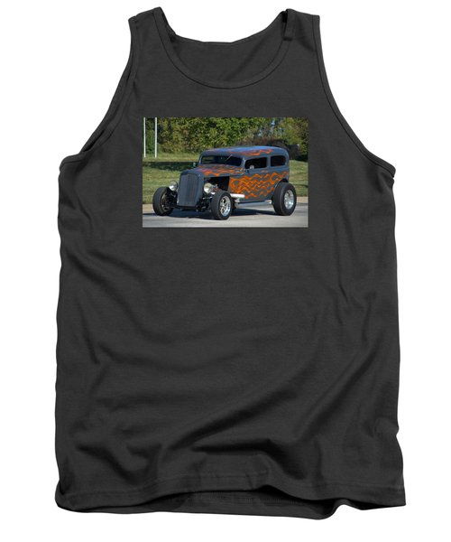 1933 Ford Sedan Hot Rod Tank Top