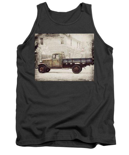 1936 Chevy High Cab -2 Tank Top