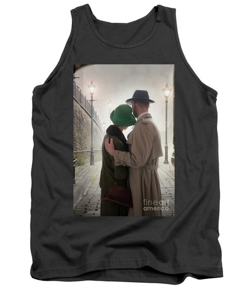 1940s Couple At Dusk  Tank Top