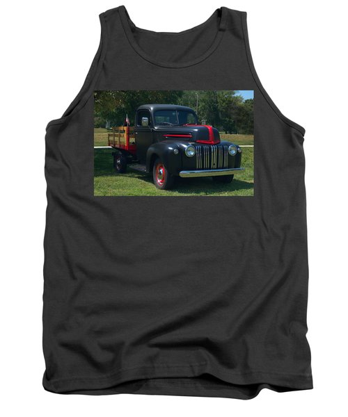 1946 Ford Stake Side Truck Tank Top by Tim McCullough