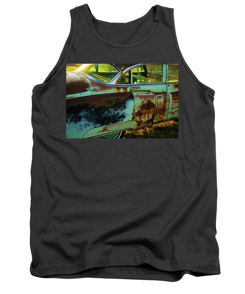 1953 Cadillac Rusting Away Tank Top