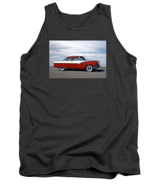 1955 Ford Victoria Tank Top by Tim McCullough