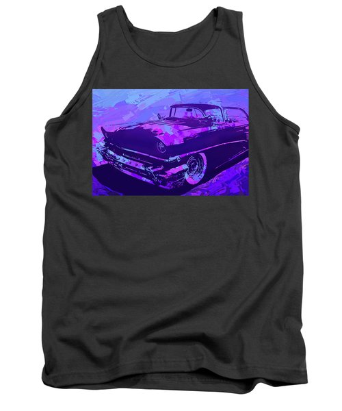 1956 Mercury Hardtop Custom Pop Violet Tank Top