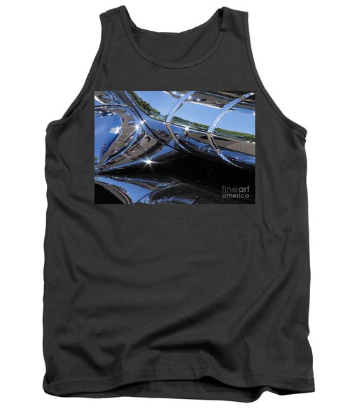 1956 Pontiac Chieftain Grill Abstract Tank Top