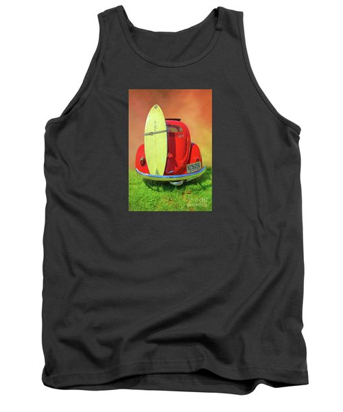 1957 Beetle Oval Tank Top by Marion Johnson