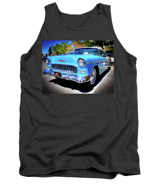 1955 Chevy Baby Blue Tank Top