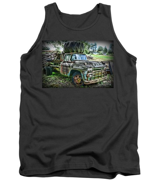 Tank Top featuring the photograph 1959 Chevrolet Viking 60 by Paul Ward