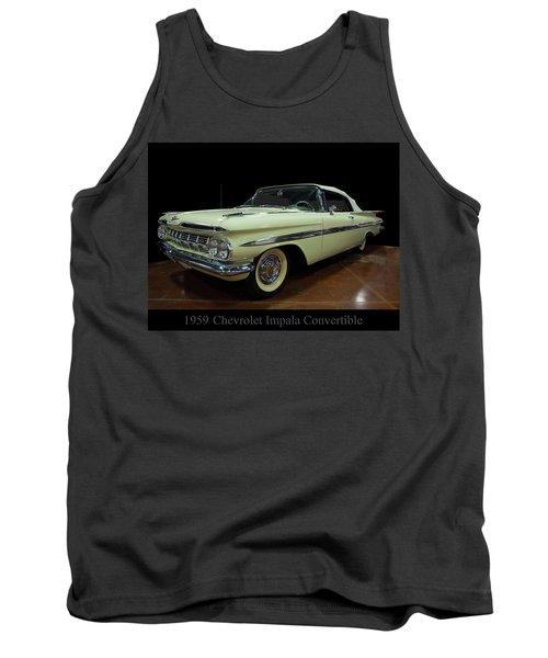 1959 Chevy Impala Convertible Tank Top