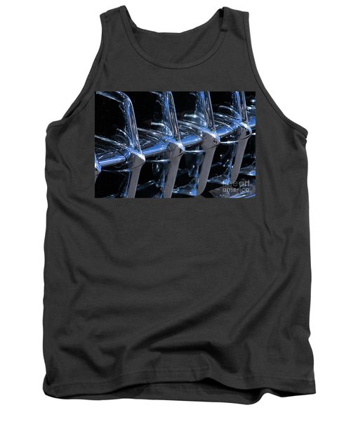 1960 Chevy Corvette Grill Abstract Tank Top
