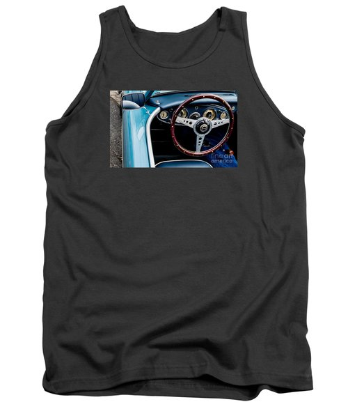 Tank Top featuring the photograph 1961 Austin Healey 3000 by M G Whittingham