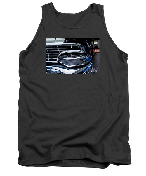 Tank Top featuring the photograph 1958 Ford Crown Victoria by M G Whittingham