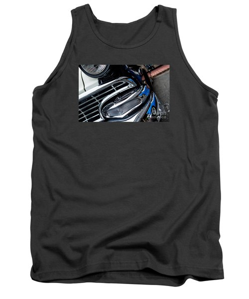 Tank Top featuring the photograph 1958 Ford Crown Victoria Reflection 2 by M G Whittingham