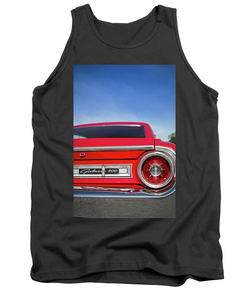 1964 Ford Galaxie 500 Taillight And Emblem Tank Top