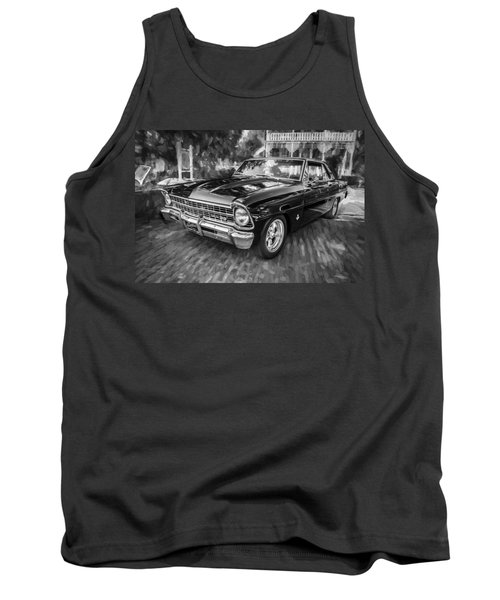 1967 Chevrolet Nova Super Sport Painted Bw 1 Tank Top