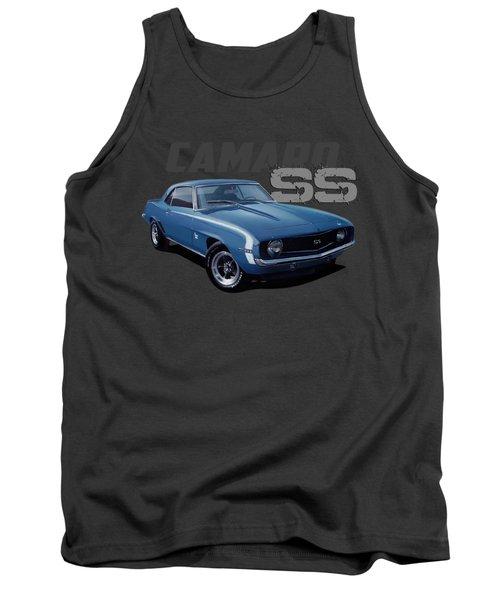 1969 Custom Camaro Ss Tank Top