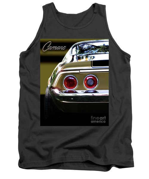 1970 Camaro Fat Ass Tank Top by Peter Piatt