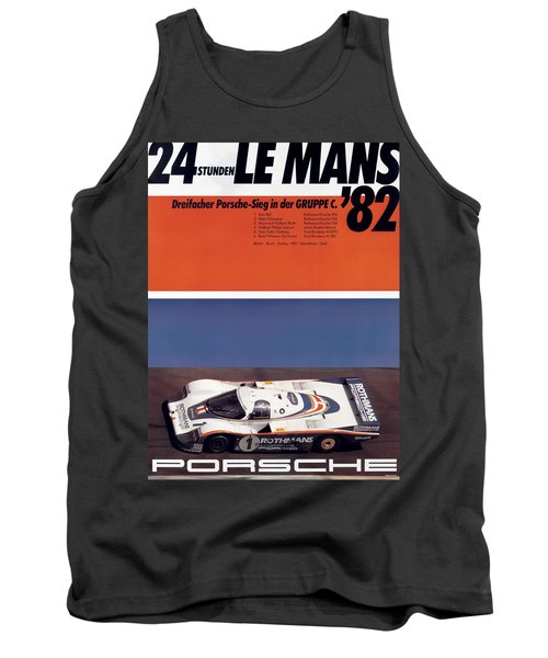 1982 24hr Le Mans Tank Top
