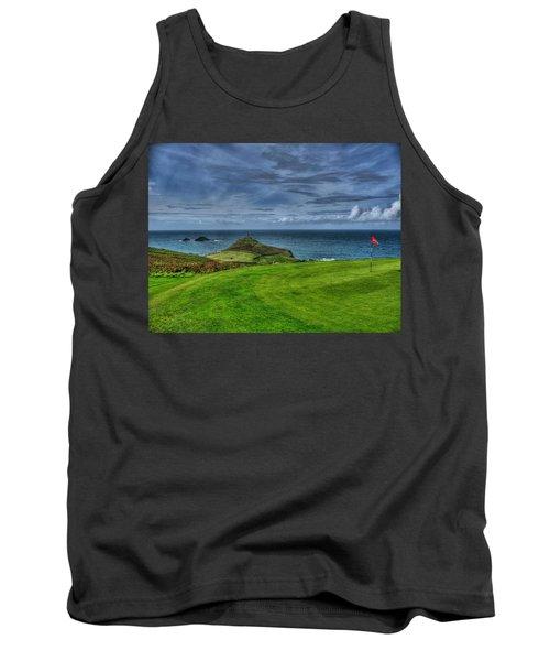 1st Green Cape Cornwall Golf Club Tank Top
