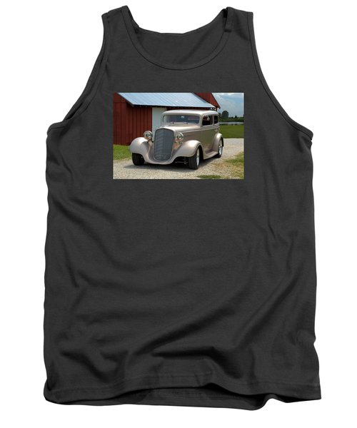 1934 Chevrolet Sedan Hot Rod Tank Top