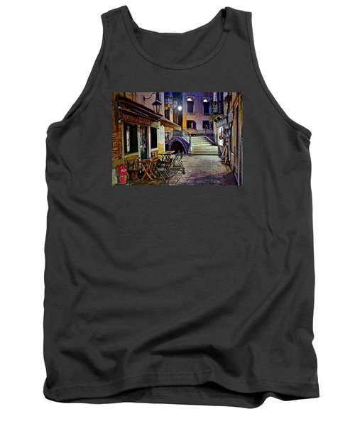 An Evening In Venice Tank Top by Frozen in Time Fine Art Photography
