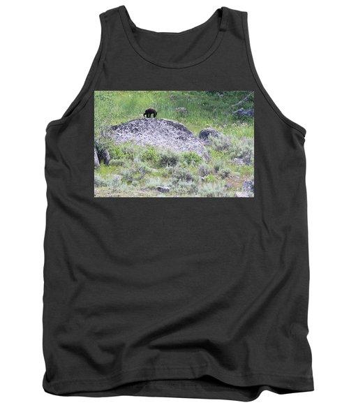American Black Bear Yellowstone Usa Tank Top