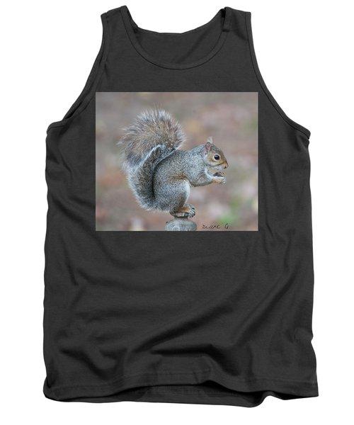 Autumn Squirrel Tank Top