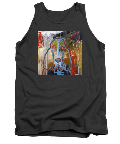 Basset Hound  Tank Top by Leanne WILKES