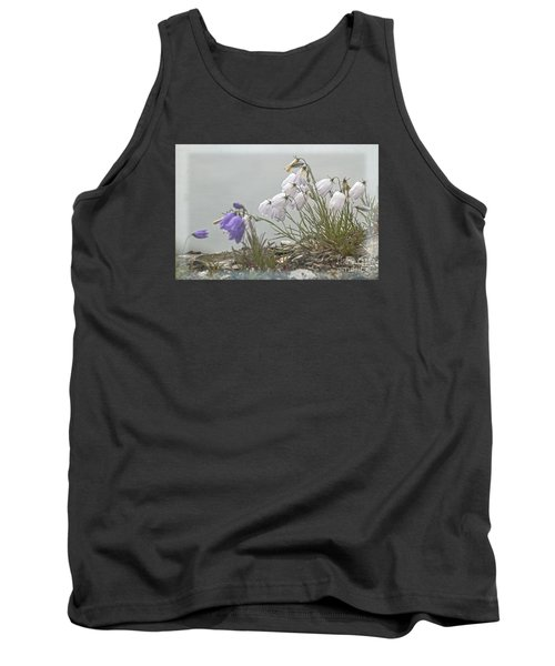 Tank Top featuring the photograph Bellflower by Heiko Koehrer-Wagner