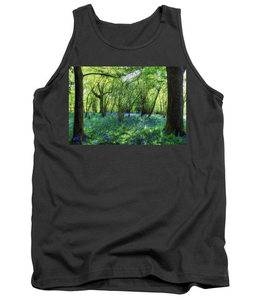 Bluebells In The New Forest Tank Top