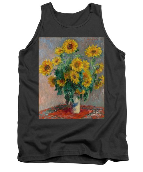 Bouquet Of Sunflowers Tank Top