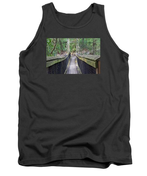 Bridge To Paradise Tank Top by Kenneth Albin
