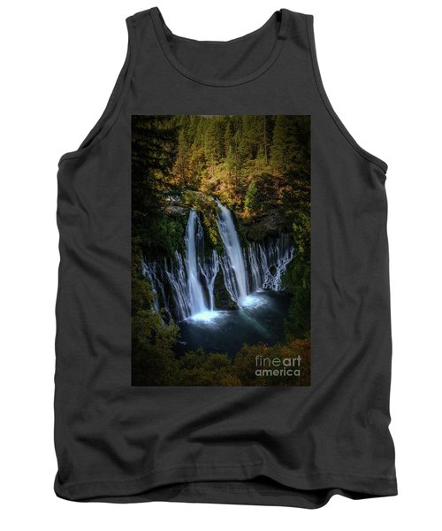 Tank Top featuring the photograph Burney Falls by Kelly Wade