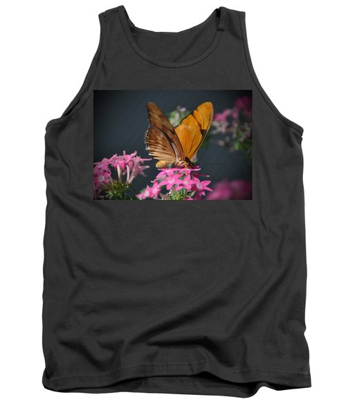 Tank Top featuring the photograph Butterfly by Savannah Gibbs