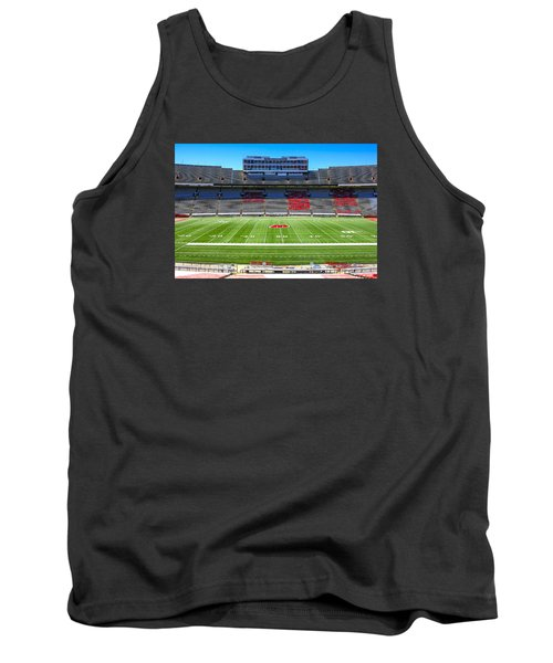 Camp Randall Uw Madison Tank Top by Chris Smith