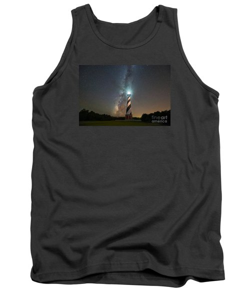 Cape Hatteras Lighthouse Milky Way Tank Top