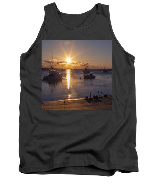 Tank Top featuring the photograph Chatham Sunrise by Charles Harden
