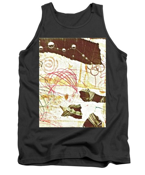 Collage Details Tank Top