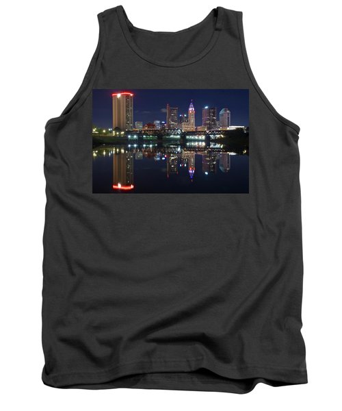 Columbus Ohio Tank Top by Frozen in Time Fine Art Photography